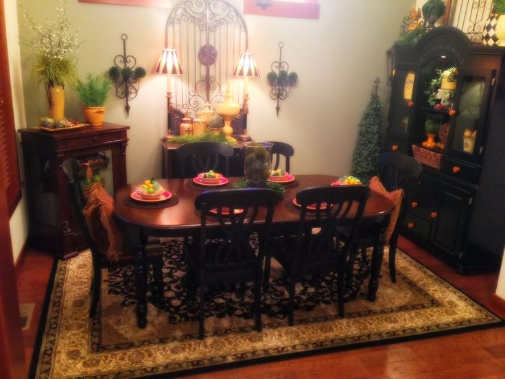 The Tuscan Home Dining Room