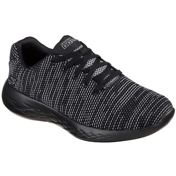 Skechers Women's Skechers Gorun - Obtain Black 5.5 - Skechers... ($65) ❤ liked on Polyvore featuring shoes, athletic shoes, black, lightweight shoes, skechers, skechers shoes, kohl shoes and skechers athletic shoes