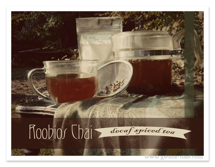 Rooibos Chai Tea  Giveaway! {Trim Healthy Tuesday}