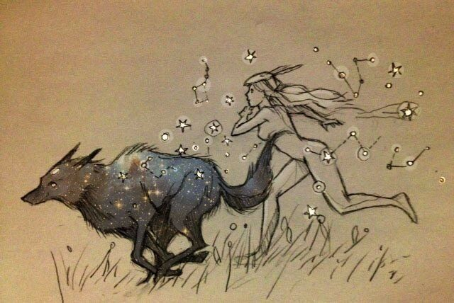 имеются иллюстрации звездный волк фото вручения, пришло