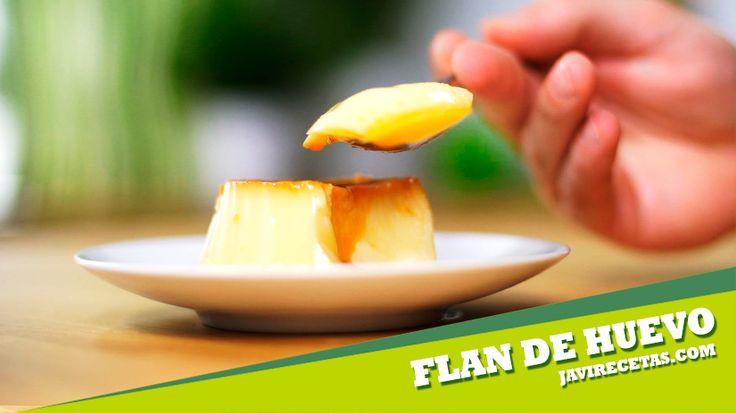 El fin de semana resérvate un ratito para hacer esta #receta de FLAN  de Huevo Casero. Ya verás que ricos!!!