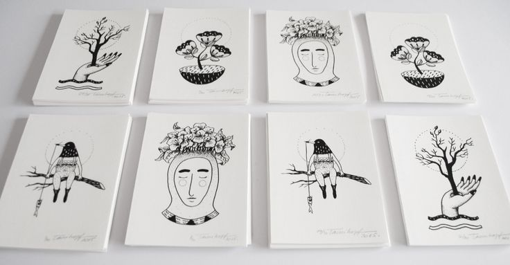 Pictoplasma Special edition cards by Tami Hopf hopfstudio.com