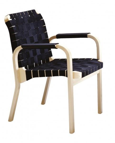 Artek Armchair 45 by Alvar Aalto