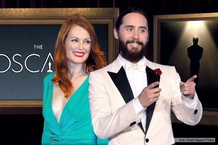 Julianne Moore y Jared Leto, entre los presentadores de los Oscar - Télam - Agencia Nacional de Noticias