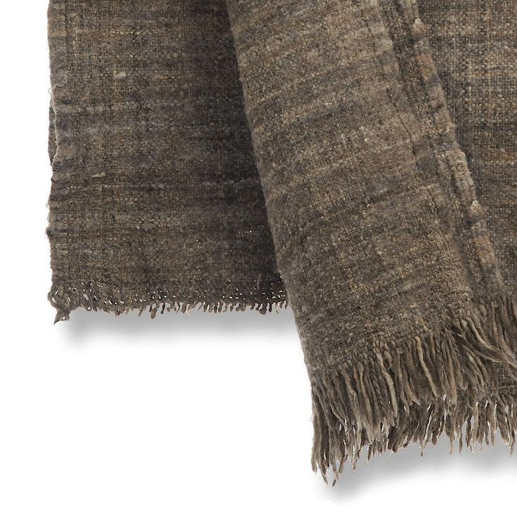 100% wool blanket, made in the Middle Atlas of Morocco. It's about 20/30 years old and made fair and with natural colored sheep wool. www.fair-fabrics.nl