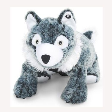 Way too cute! Wyatt the Wolf Zoobie