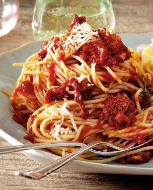Wie kocht man eigentlich Pasta misa per due? Hier geht's zum Rezept >>