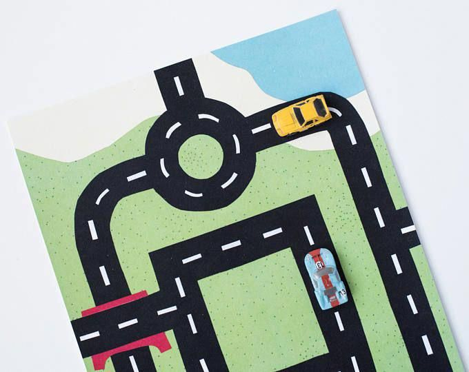 Garage Workshop Impressive Examples To Discover It Now In 2020 Car Play Mats Kids Road Maps Play Mat
