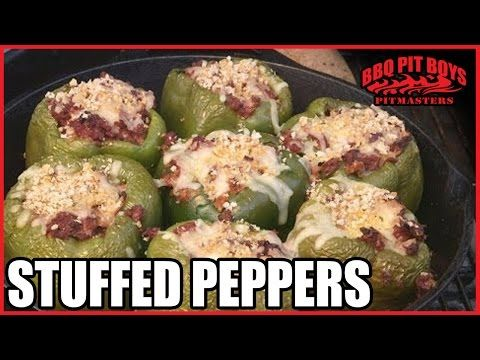 Stuffed Peppers by the BBQ Pit Boys - YouTube