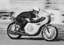 1965 日本GP 350cc 4位の山下護祐