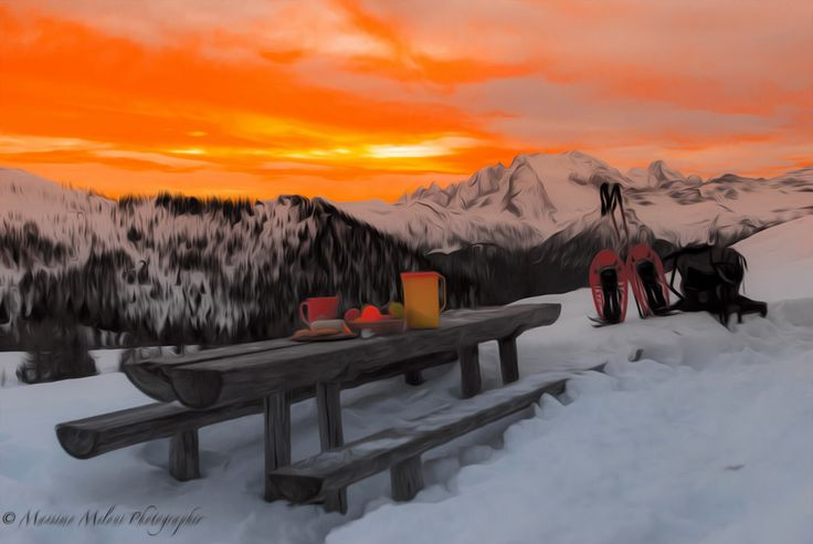 Sunset Marmolada (ITA) by massmelon  on 500px