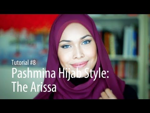 ▶ [Adlina Anis] Hijab Tutorial 8 | The Arissa - YouTube