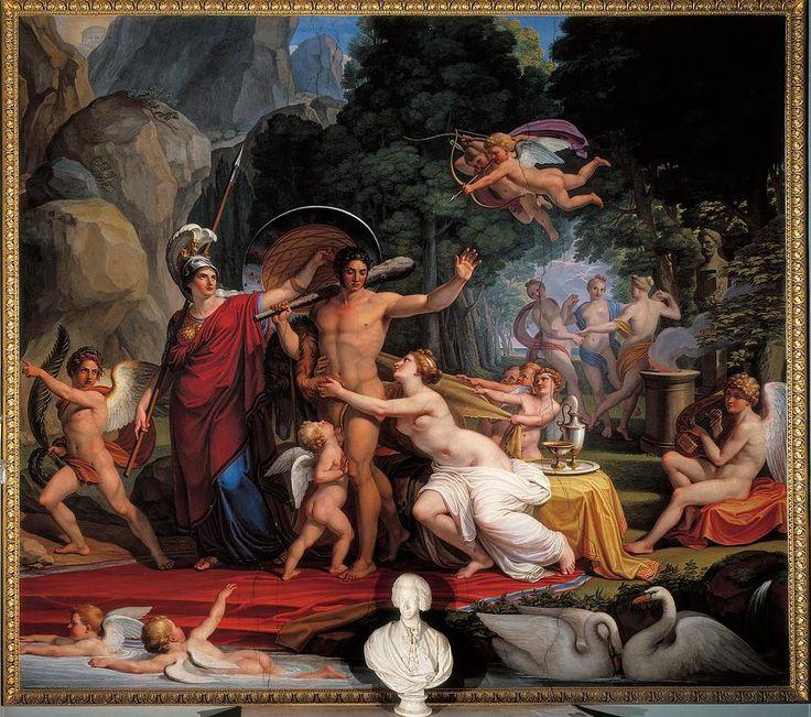 Pietro Bienvenuti - Hercules at the Crossroads, 1817-1829