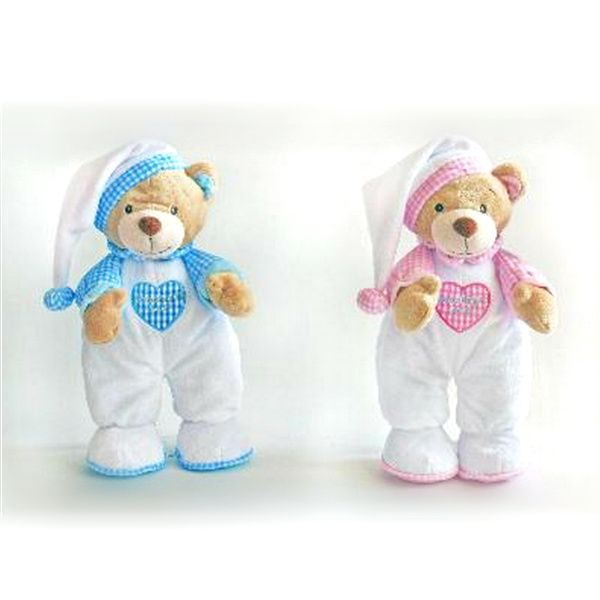 Plush 25cm Goodnight nursery Bear by Keel Toys (bac0507)