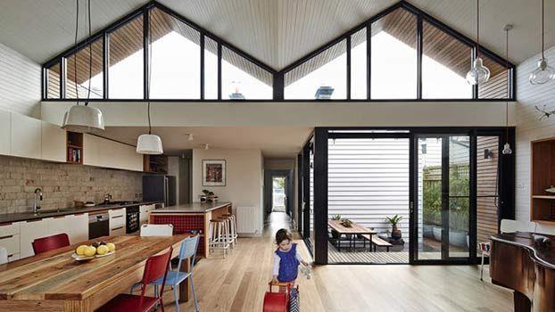 Ristrutturare una Piccola casa con luce naturale