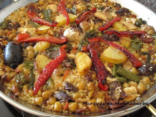 las recetas del marqués de muchabarba: PAELLA DE COCIDO