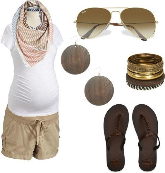 Embarazo en verano. Ideas para un look perfefto.