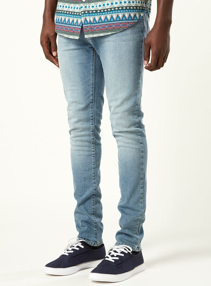light wash stretch skinny jeans | Clothes & Style | Pinterest ...