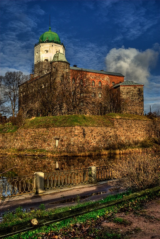St. Olaf's tower, Vyborg, Russia