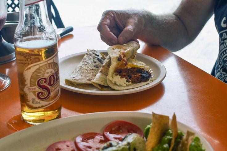 Eat local at the very popular El Fogon in Playa del Carmen, Mexico | heneedsfood.com