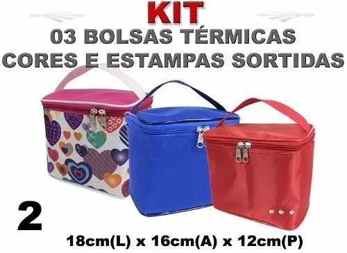 Bolsa Termica Fitness Lanche Marmita Bebida Fruta Aliment 1 - R$ 33,90 em Mercado Livre