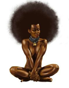artistic portraits afro centric - Google Search