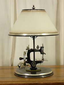 sewing machine lamp ... maybe DIY-able ?