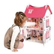 Кукольный домик Мадмуазель с мебелью и куклами