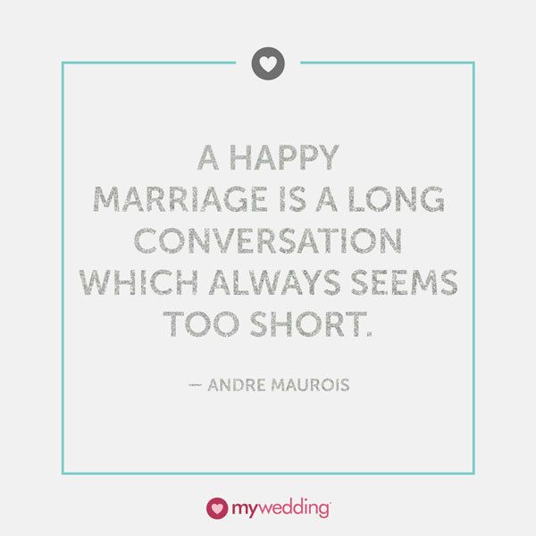 Andre Maurois Quote On Hy Marriages