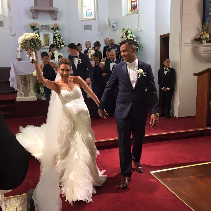M R & M R S  Gemma & Dean'sWedding  #stephaudino #SABride