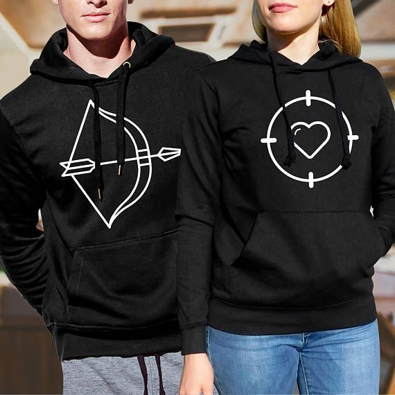 pärchen hoodies / couple sweatshirts/ his and hers hoodies /