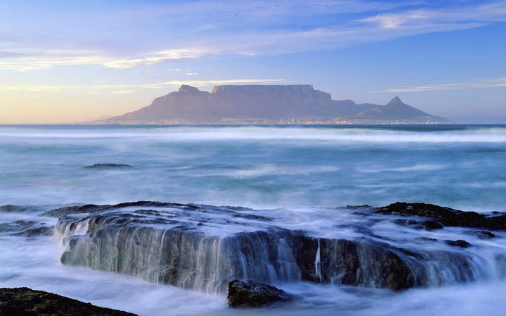 table mountain, south Africa...
