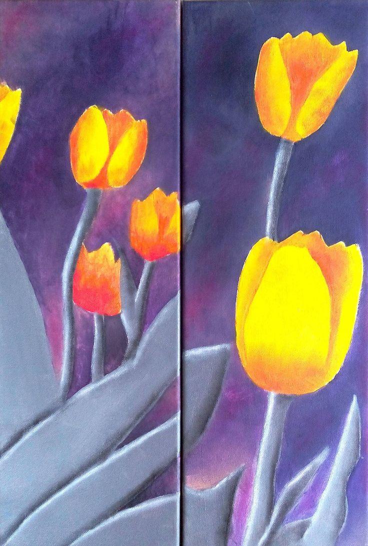 les 25 meilleures idées de la catégorie tulipes jaunes sur