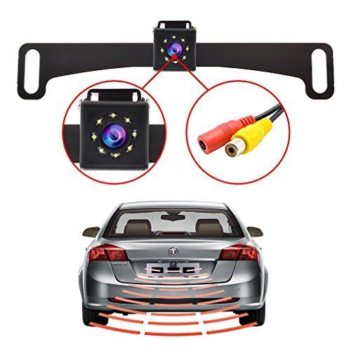 #marineelectronics Wireless Backup Camera RC 12V-24V Rear View and Monitor Kit Waterproof Parking Assistance System For Car/ Truck / Van /…