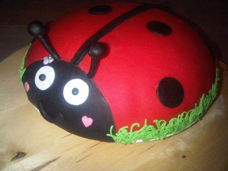 Lieveheersbeestjes taart