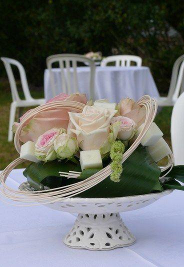 ROMANTIQUE WEDDING RECEPTION DECORATIONS | ... de table - Mariage romantique : mariage rose, thème rose - aufeminin