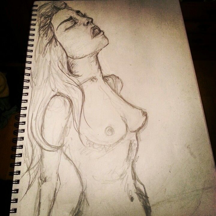 #woman #pencil #sketch