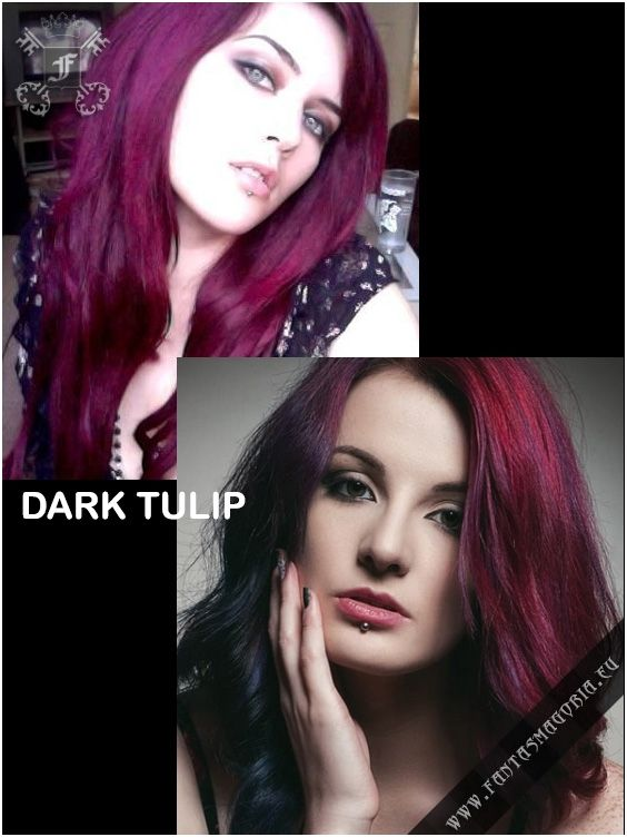 Coloring hair balsam - Directions-Dark Tulip #haircolor #brighthair #directions #lariche #gothichair #hairfashion #hairspiration #gothichairstyle #coloredhair #hairdye #hairdye #brighthair #girlwithdyedhair | Fantasmagoria.eu - Gothic Fashion boutique