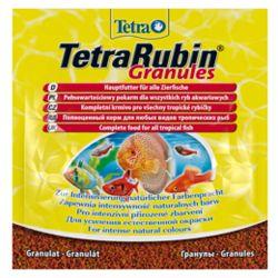 Корм для всех видов рыб Тетра Рубин для улучшения окраса, пак. 15г