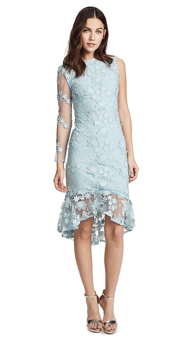 Cynthia Rowley Skydive Lace Midi Dress   SHOPBOP
