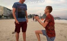 El atleta olímpico Tom Bosworth le propuso matrimonio a su novio en Rio