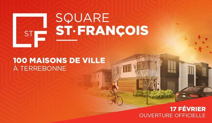 #NOUVEAUDécouvrez un projet unique sur la Rive-Nord de Montréal!👉Le Square Saint-François,#carrémenttoi!En savoir plus ->https://goo.gl/WEKyVB (scheduled via http://www.tailwindapp.com?utm_source=pinterest&utm_medium=twpin)