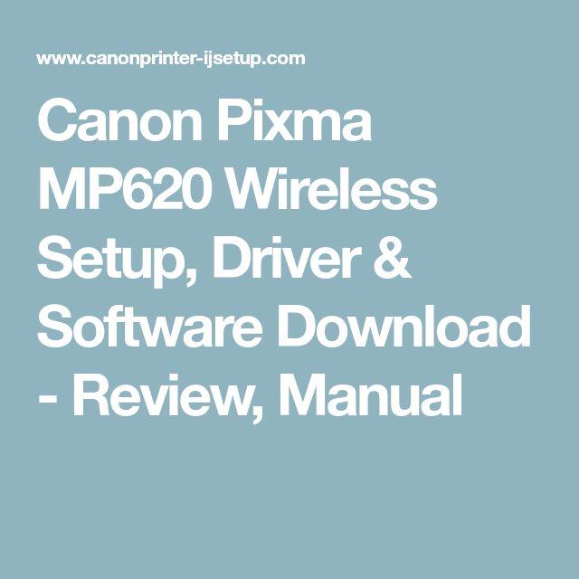 canon mp620 printer software mac