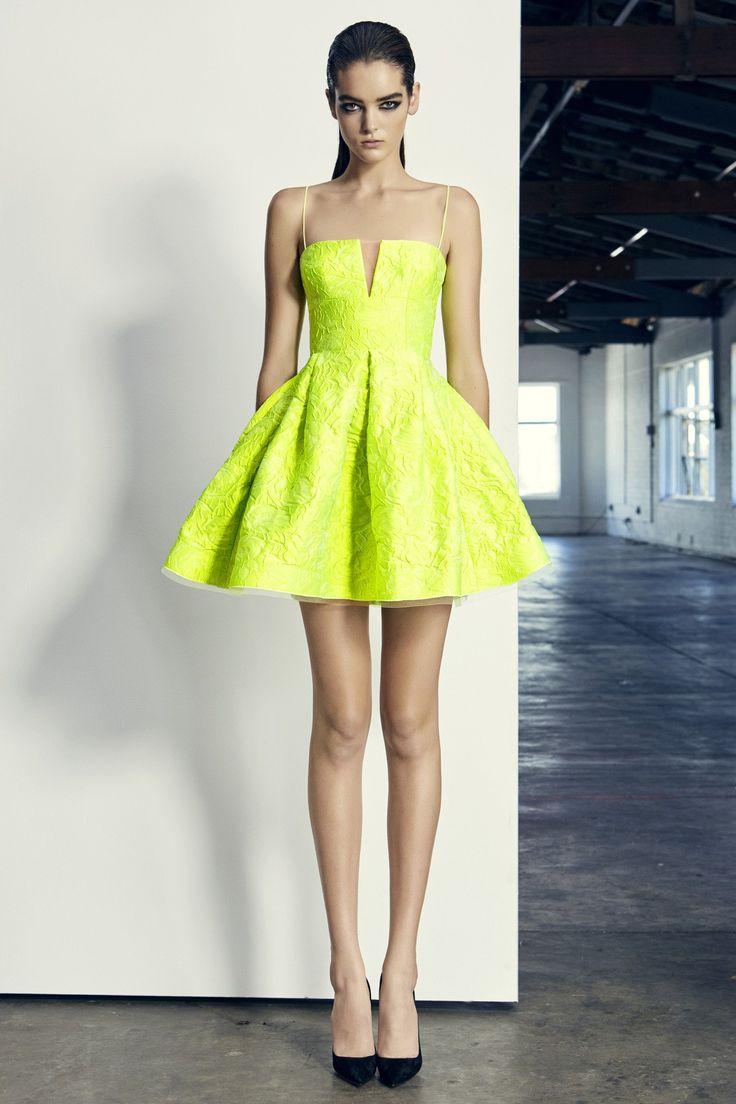 Alex Perry - Drake Floral Brocade Mini Dress