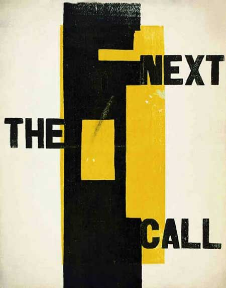 H. N. Werkman | The Next Call [No. 2, October 1923]