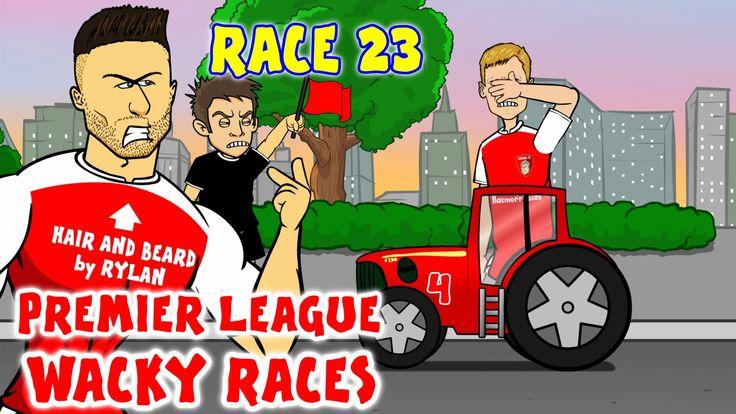EPL Wacky Races: Liverpool & Chelsea bag GW23 wins Louis van Gaal is knocked out (442oons video)