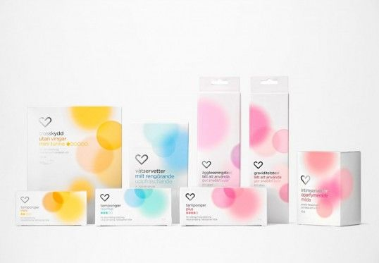 white background packaging