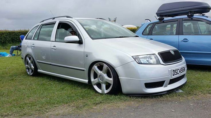 Fabia combi gt on audi wheels