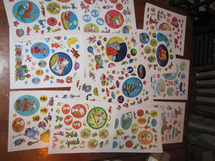 Toopy and Binoo Stickers by FunAwesomeDeals on Etsy