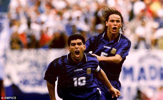 ¿Sabías que..? El ultimo gol de Diego Armando Maradona con la Selección Argentina fue en el partido de cierre de llave de grupo del mundial de USA '94 ante Grecia.